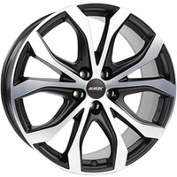 Alutec W10 Racing black front polished