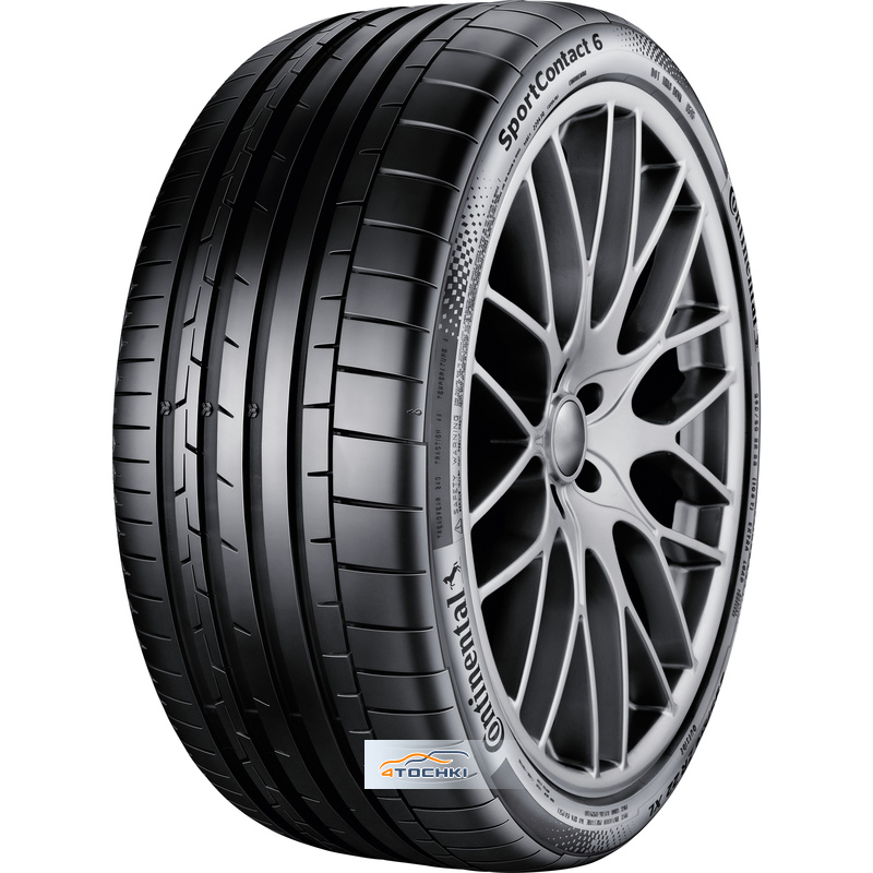 Шины Continental SportContact 6 295/30ZR19 100(Y) XL
