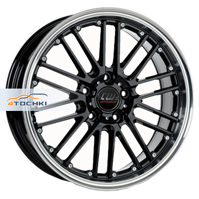 Диски Borbet CW2/5 Black polished 8,5x18/5x112 ЕТ30 D72,5