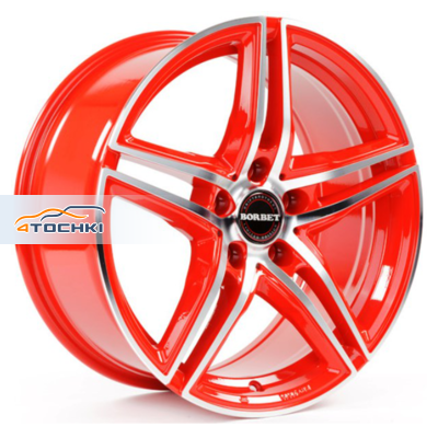 Диски Borbet XRT Red Front Polished 8x18/5x114,3 ЕТ35 D72,5