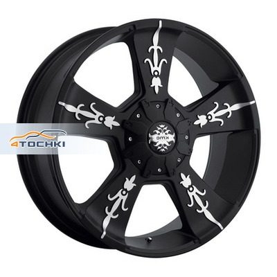 Диски KMC KM668 Black/Machined 9x22/6x135*6x139,7 ЕТ18 D106,25