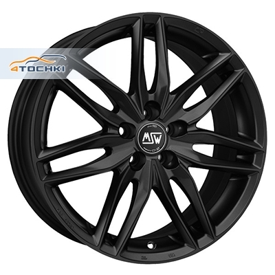 Диски MSW 24 Matt Black 8x17/5x100 ЕТ35 D63,3