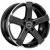 45 Matt Black Full Polished