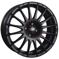 Superturismo GT Matt Black + Red Lettering