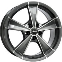 Roma Graphite front polished