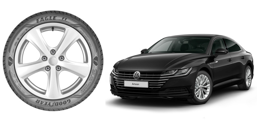 Volkswagen выбирает Goodyear Eagle F1 Asymmetric 3 для нового фастбэка Arteon